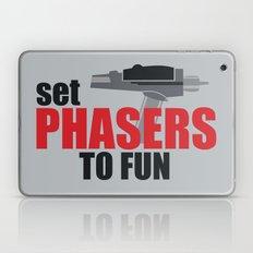 Set Phasers to Fun! Laptop & iPad Skin