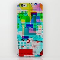 Glitch 002 iPhone & iPod Skin