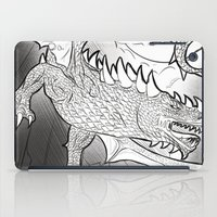 Black Dragon iPad Case