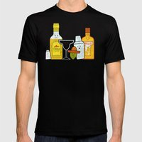 Margarita! Mens Fitted Tee Black SMALL