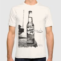 Soda nostalgia Mens Fitted Tee Natural SMALL
