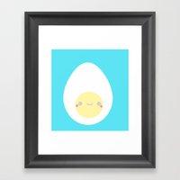 Eggy  Framed Art Print