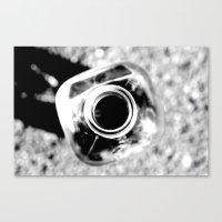 the bottle Canvas Print