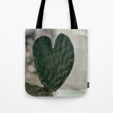 Padded Heart Tote Bag
