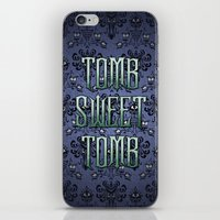 Haunted Mansion - Tomb S… iPhone & iPod Skin