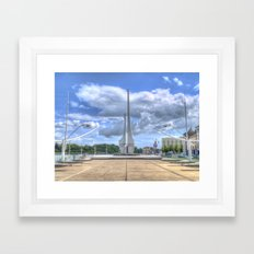 Millennium Plaza, Waterford City Framed Art Print