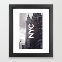 NYC Basic [8] Framed Art Print