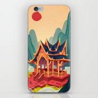 Air Temple iPhone & iPod Skin