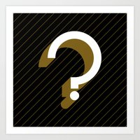 Question Art Print