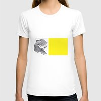 Parrot Womens Fitted Tee White SMALL