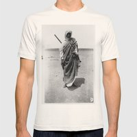 Service In Egypt Mens Fitted Tee Natural SMALL