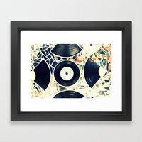 Missing Pieces Framed Art Print