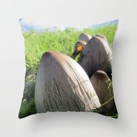 Organic Minaret Throw Pillow