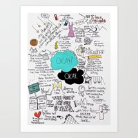 The Fault in Our Stars- John Green Art Print
