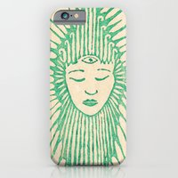 iPhone & iPod Case featuring Buddha by EVOL