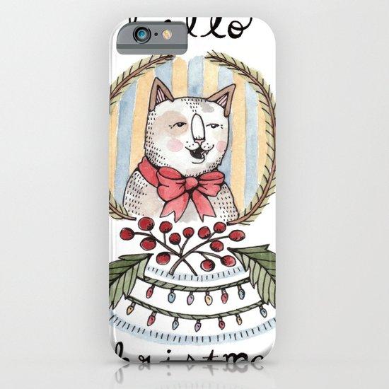 hello christmas iPhone & iPod Case