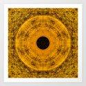 Solid Gold Inca Art Print