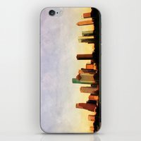 Houston Skyline iPhone & iPod Skin