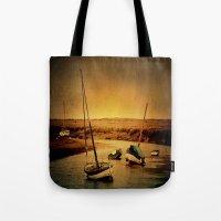 Blakeney Boats Tote Bag