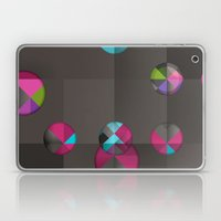 Optical Illusion Black Laptop & iPad Skin