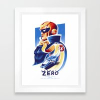 Formula Zero (Open Edition) Framed Art Print