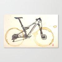Coffee Wheels #03 Canvas Print