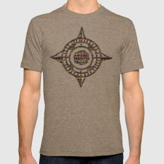 Eye Candy II Mens Fitted Tee Tri-Coffee SMALL