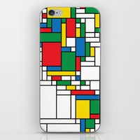 Modern World Map iPhone & iPod Skin