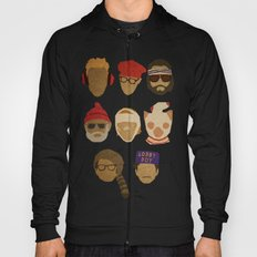 Wes Anderson Hats Hoody