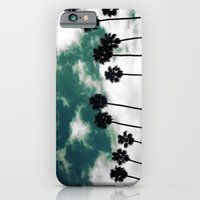 Palms in the sky iPhone 6 Slim Case