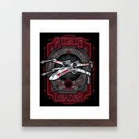 Rogue Leader Framed Art Print