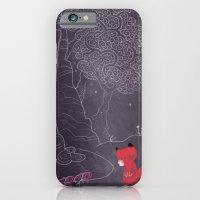 Purple on the lake iPhone 6 Slim Case