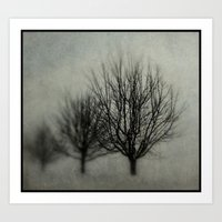 Winter's Solitude Art Print