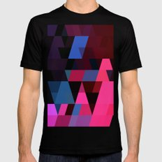 color story - electric Black Mens Fitted Tee SMALL