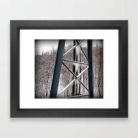 Beauty Like Ice Framed Art Print