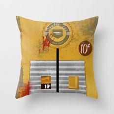 Double Tap Throw Pillow