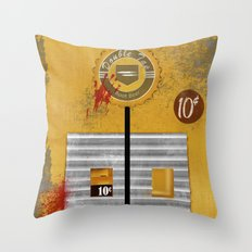 Double Tap Throw Pillow