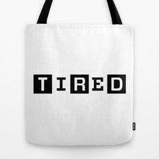 Tired Magazine Tote Bag