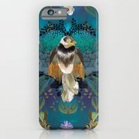 iPhone & iPod Case featuring Blissful Birds by Million Dollar Design