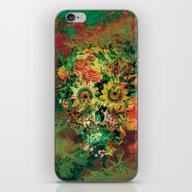 SKULL BOTANICA iPhone & iPod Skin