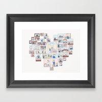Find Heart Framed Art Print