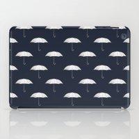 Blue Umbrella iPad Case