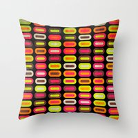 Abrtract II Throw Pillow