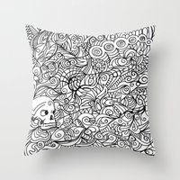 MEMENTO MORIARTY Throw Pillow