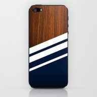 Wooden Navy iPhone & iPod Skin