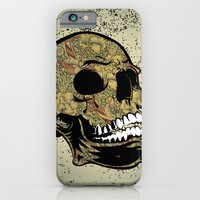 iPhone Cases featuring Skull by nicky2342