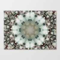 Creamy Mosaic Canvas Print
