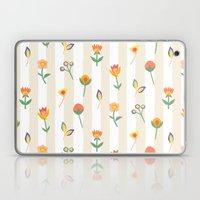 Paper Cut Flowers Laptop & iPad Skin