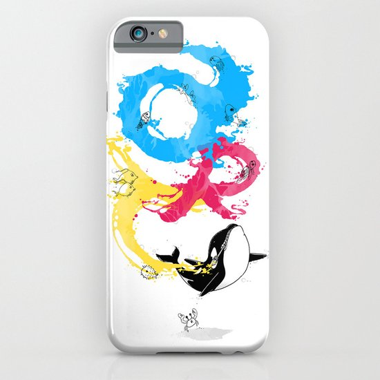 The ART of Swimming iPhone & iPod Case