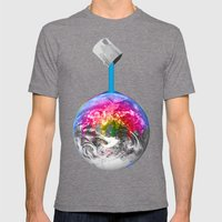 Canopy Of Color Mens Fitted Tee Tri-Grey SMALL